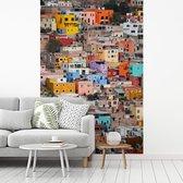 Tropische Favela van Leon in Spanje fotobehang vinyl breedte 215 cm x hoogte 320 cm - Foto print op behang (in 7 formaten beschikbaar)
