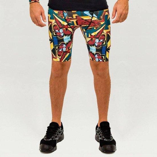 Heren – sportbroek – hardloopbroek – running shorts – Design ParizOne – Maat L