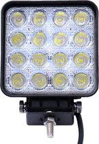 Krachtige LED Werklamp voor auto - aanhangwagen - truck  48W 12V 24V