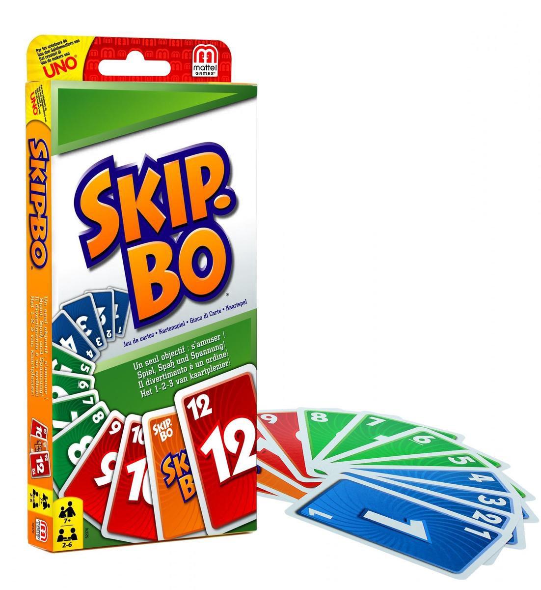 Skip-Bo Kaartspel - Mattel Games