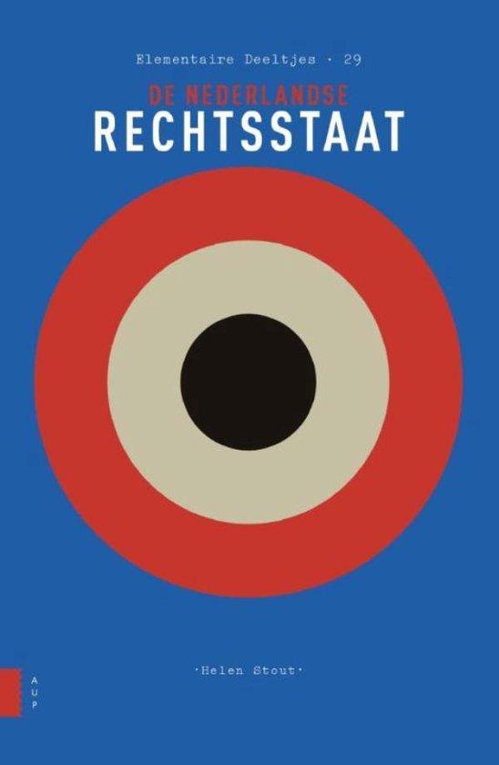 Boek cover De Nederlandse rechtsstaat van Helen Stout (Onbekend)