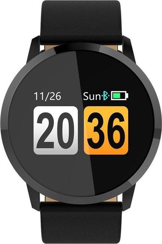 Smartwatch-Trends Q8 - Smartwatch - 24 mm - Zwart