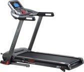 Loopband - Focus Fitness Jet 7 iPlus - incl. Tablethouder en Bluetooth - Inklapbaar/Opklapbaar - Fitnessapparaat - 1-18 km/u - 36 Trainingsprogramma's - Hardloopband voor thuis - Zwart