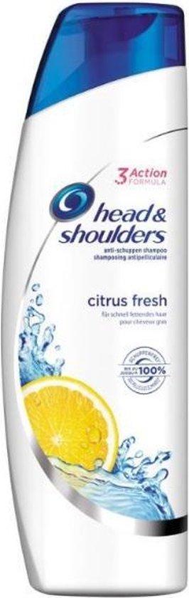 """Head & Shoulders Citrus Fresh """"Voor vet haar"""" 280ml."""
