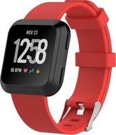 Rode Fitbit Versa Smartwatch bandje kopen? Kijk snel!  