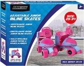Rolschaatsen Meisjes Verstelbaar 29-34 Roze - Rolschaats Kinderen