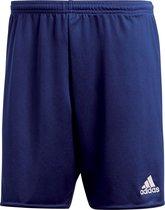 adidas Parma 16 Shorts Heren Sportbroekje - Dark Blue/Wit - Maat S