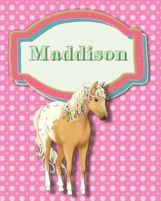 Handwriting and Illustration Story Paper 120 Pages Maddison