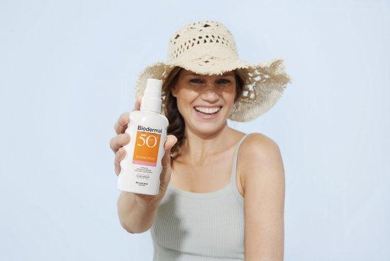 Biodermal Zonnebrand voor de Gevoelige huid - SPF 50 - 50ml - Zonnebrand voor het gezicht