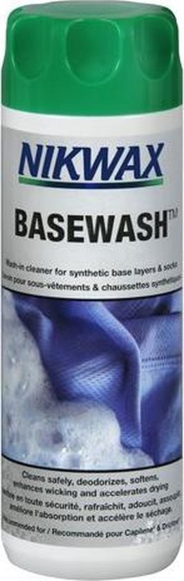 Nikwax Basewash - Geurverdrijvend wasmiddel & conditioner -300 ml