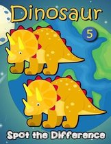 Dinosaur Spot The Difference 5