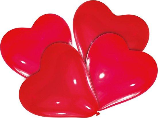 Riethmüller Ballonnen Hart 30 Cm Latex Rood 4 Stuks