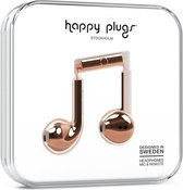 Happy Plugs Earbud Plus - In-ear oortjes - Roze Goud