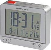 ATRIUM wekker Radiogestuurd Digitaal Zilver - A760-19