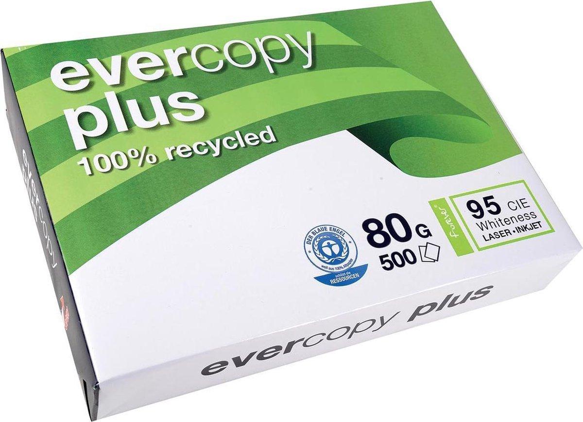 Clairefontaine Evercopy kopieerpapier Plus formaat A4 80 g pak van 500 vel