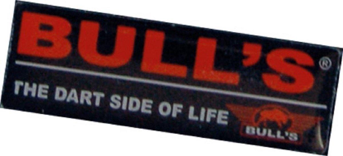 Bull's Patch Geschenk 11 Cm Zwart
