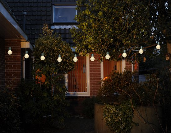 CBD Partyverlichting - 20 LED - ø5 cm – Warm Wit - 10m