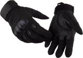 Motorhandschoenen - Volledige bescherming - Racing Motorbike Motocross -Ademende Handschoenen - Size M - Zwart