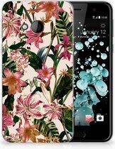 HTC U Play TPU-siliconen Hoesje Flowers