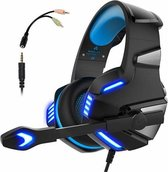 Hunterspider - Gaming Headset - Multi Platform - Zwart/Blauw