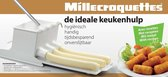 Millecroquettes Krokettenmaker - Kleine kroketten - Wit - Kunststof