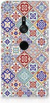Standcase Sony Xperia XZ3 Tiles Color