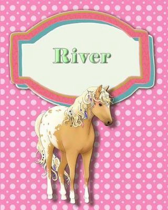 Handwriting and Illustration Story Paper 120 Pages River