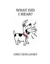 What Did I Hear?
