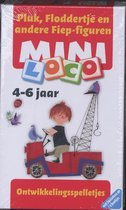 Boek cover Pakket Mini loco: Basisdoos + Pluk, Floddertje en andere Fiep-figuren 1+ 2 van Uitgever, Noordhoff Uitgevers B.
