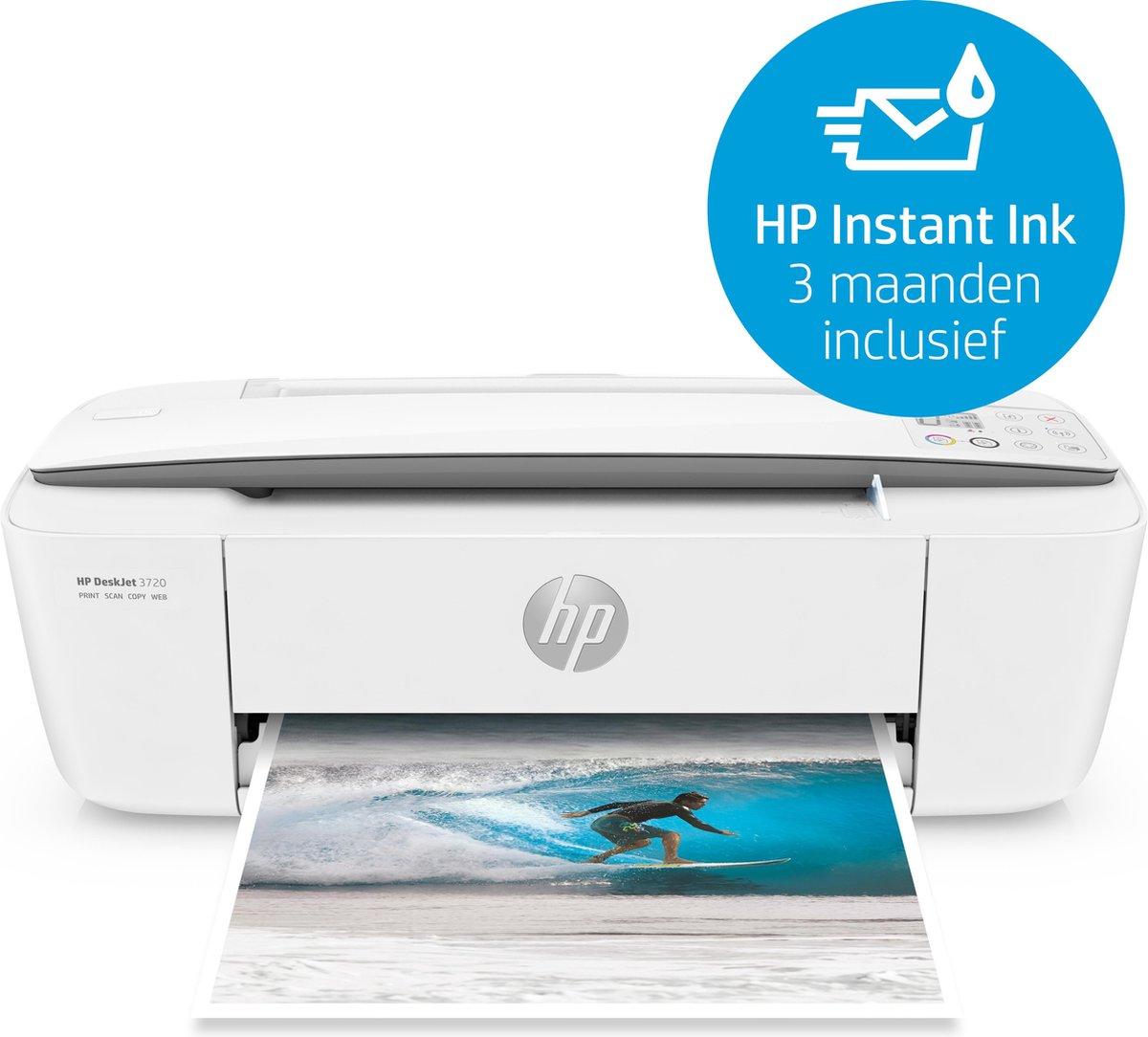 HP DeskJet 3720 Thermische inkjet 4800 x 1200 DPI 8 ppm A4 Wi-Fi - HP