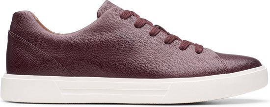 Clarks Un Costa Lace Heren Sneakers - Ox-Blood Leather - Maat 42