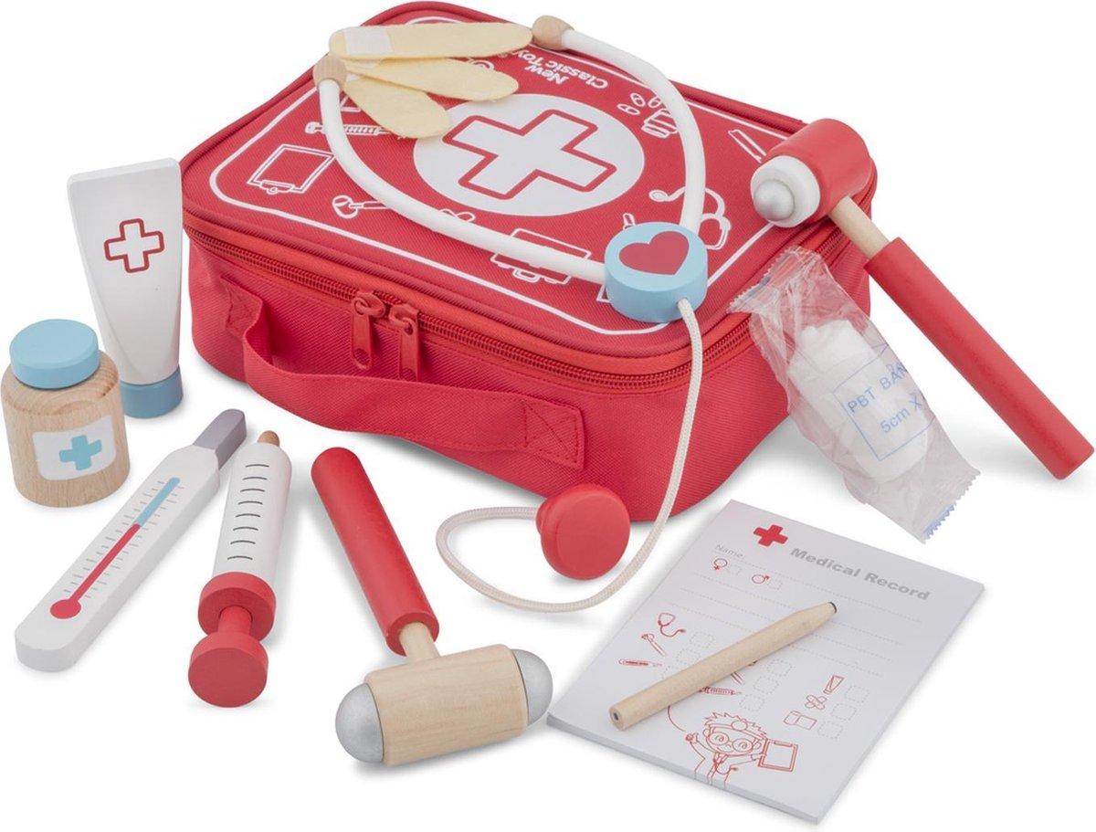 New Classic Toys Educatief Spel Speelgoed Dokterskoffertje