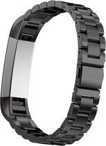 YONO RVS bandje - Fitbit Alta (HR) - Zwart
