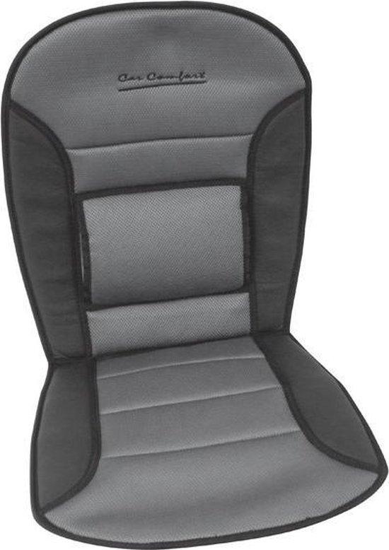 Auto Stoelkussen Comfort Universeel - Zwart/Grijs
