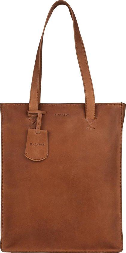BURKELY Michelle Dames Shopper - 13.3 inch Laptoptas - Cognac - BURKELY