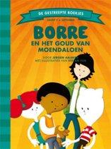 De Gestreepte Boekjes Groep 5 September -   Borre en het goud van Moendaloen