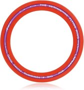 Jobber Aerodisc Frisbee - Aerobie Ring Sport - 25 cm - Rood