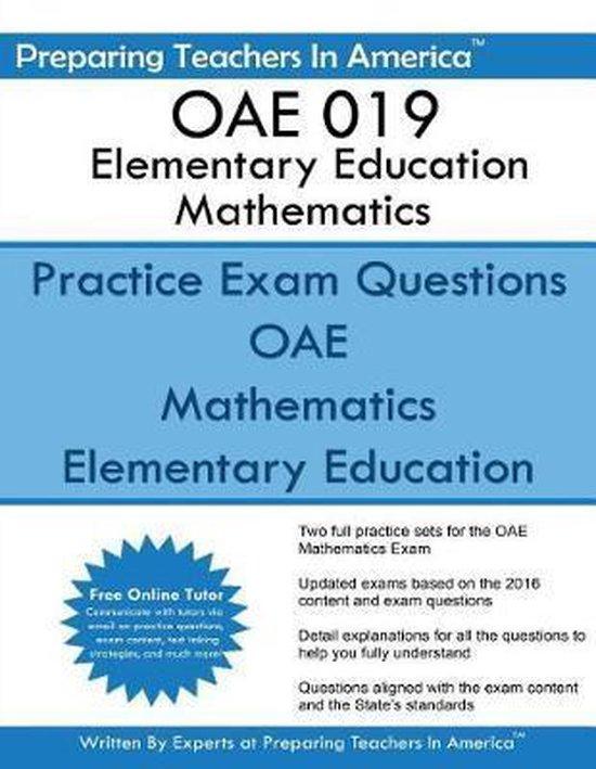 OAE 019 Elementary Education Mathematics