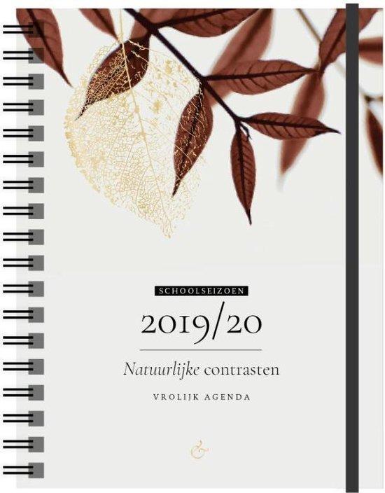 Vrolijk Agenda 2019/2020 - schoolseizoen