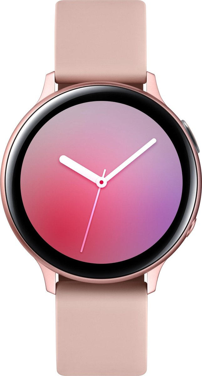 Samsung Galaxy Watch Active2 - Aluminium - Smartwatch dames - 44 mm - Rosegoud