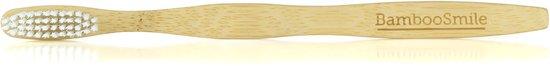 BambooSmile Bamboe Tandenborstel - Zacht/Medium - Bamboe