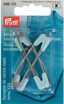 Prym Veiligheidsspelden baby blauw 4 stuks