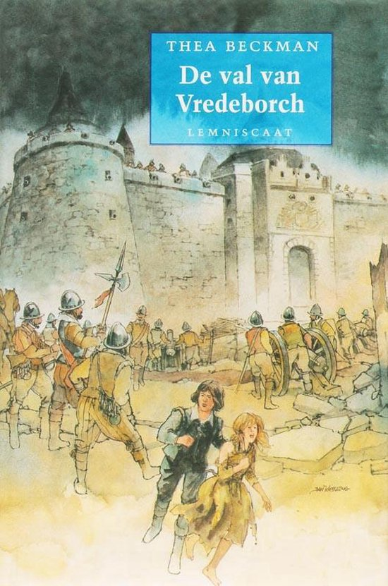 De val van de Vredeborch - Thea Beckman  