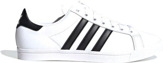 adidas Coast Star Heren Sneakers - Ftwr White/Core Black/Ftwr White - Maat 43 1/3