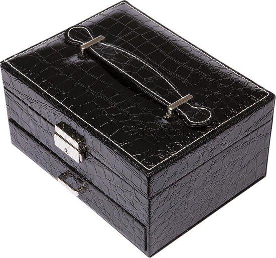Yolora sieraden - sieradendoos - juwelendoos - American Dream - Zwart