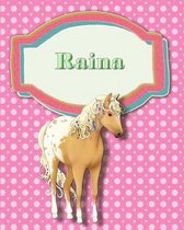 Handwriting and Illustration Story Paper 120 Pages Raina