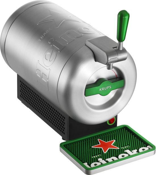 Krups - THE SUB Heineken Edition - Biertap 2L