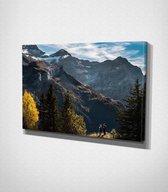 Mountains Canvas | 70x100 cm