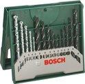 Bosch 15-delige X-Line borenset - Hout, metaal en steen