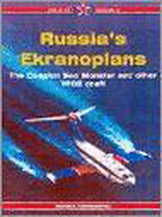Boek cover Russias Ekranoplans van Sergey Komissarov (Paperback)